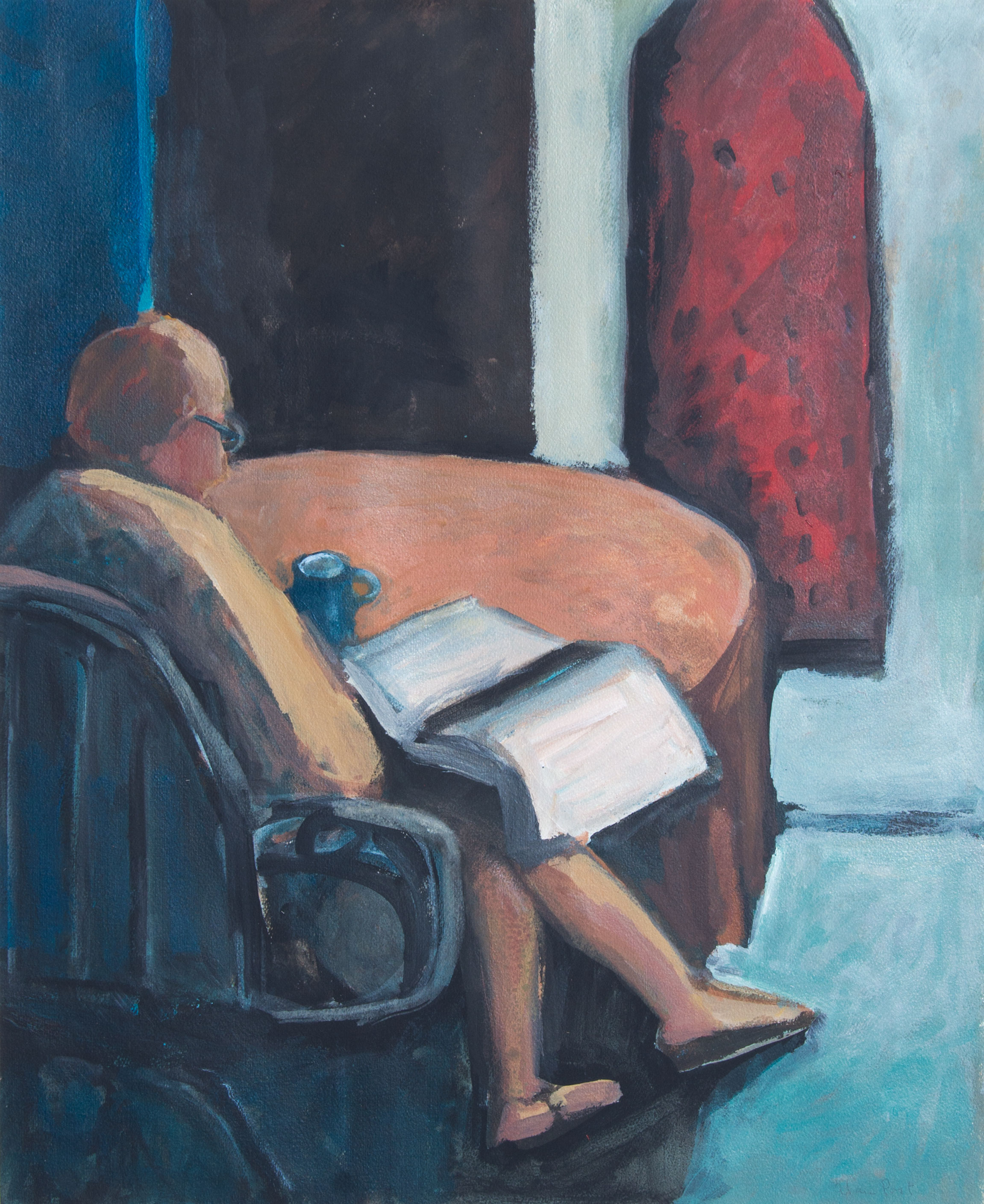 Alan Post, Helen Reading, 1987