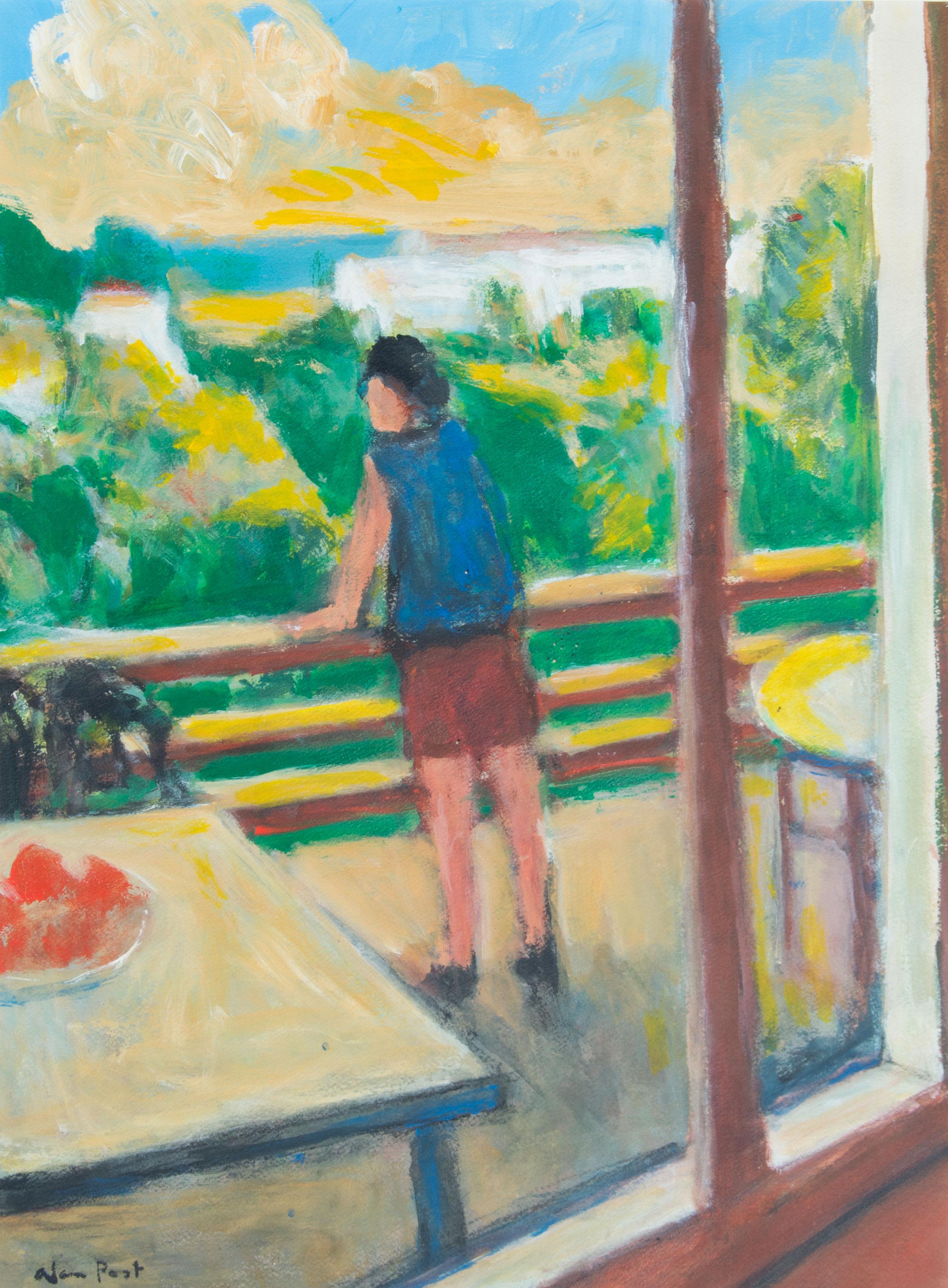 Alan Post, The Terrace At Las Playetas, 2002