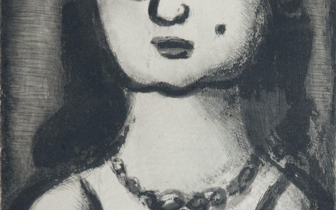 Georges Rouault, Femme Au Collier, 1931