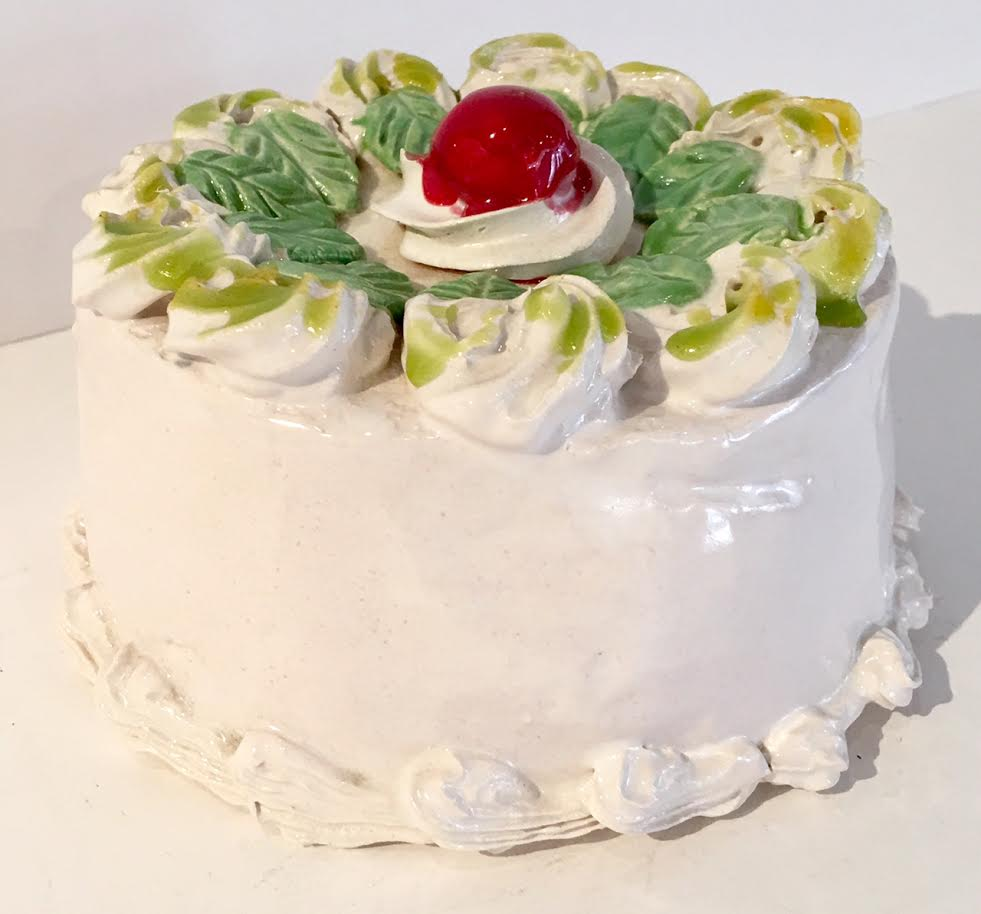 Jeff nebeker, White Cake With Mint And Cherry, 2011