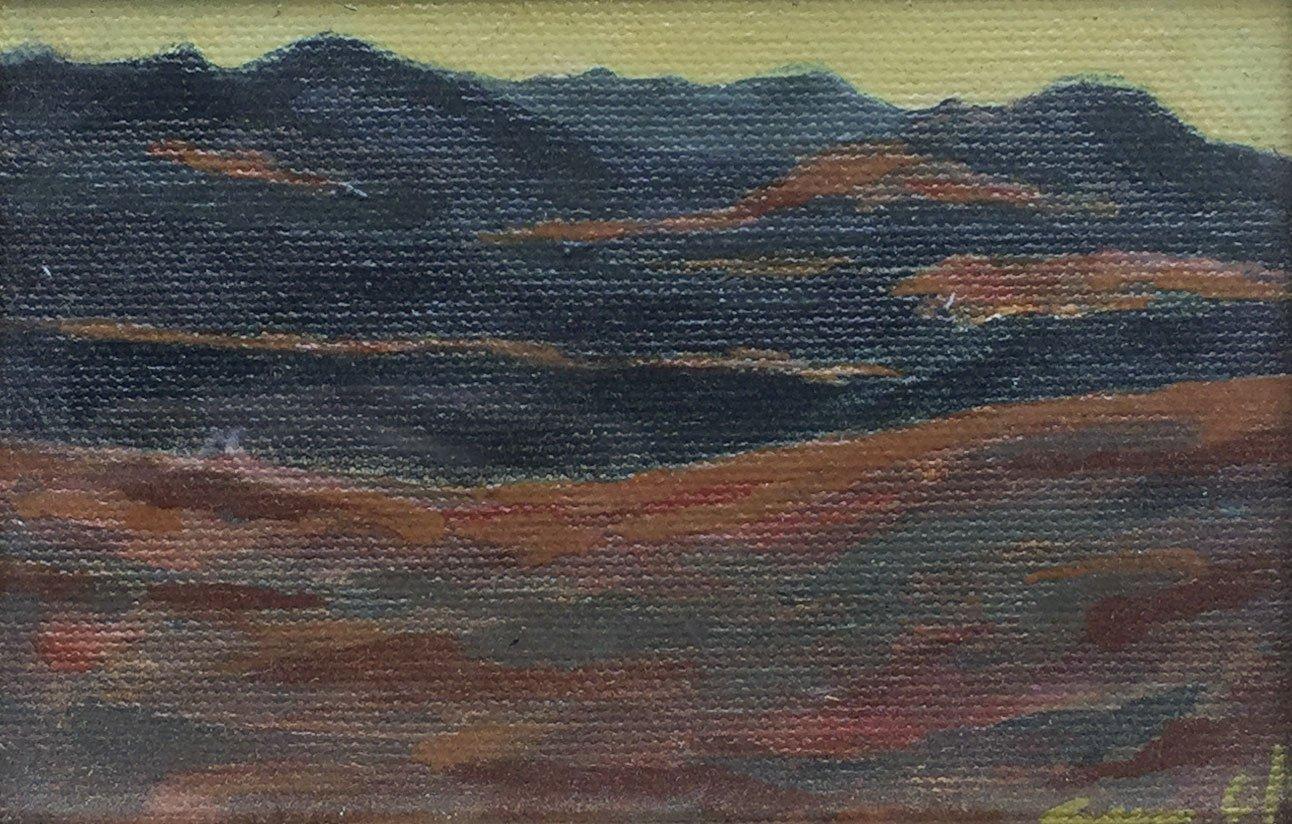Sondra Olson, Yolo Hills, 2006