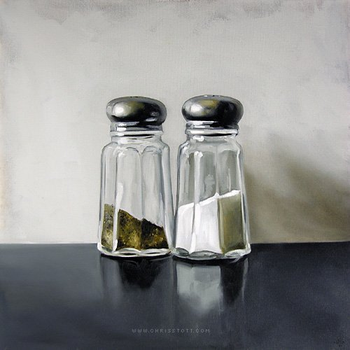 Christopher Stott, Salt & Pepper 2/10