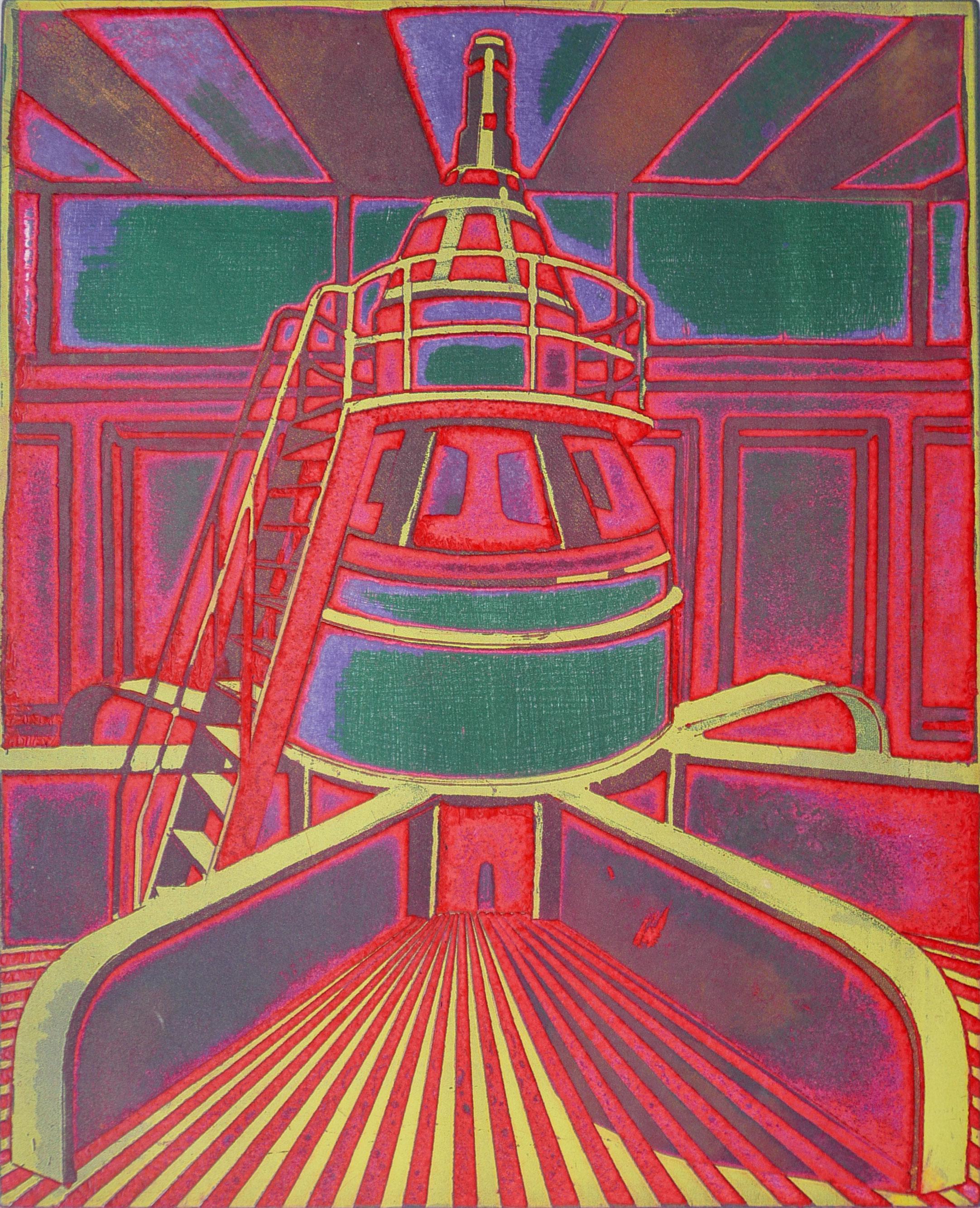 Roland Petersen, A Generator, Shasta Dam, 1970