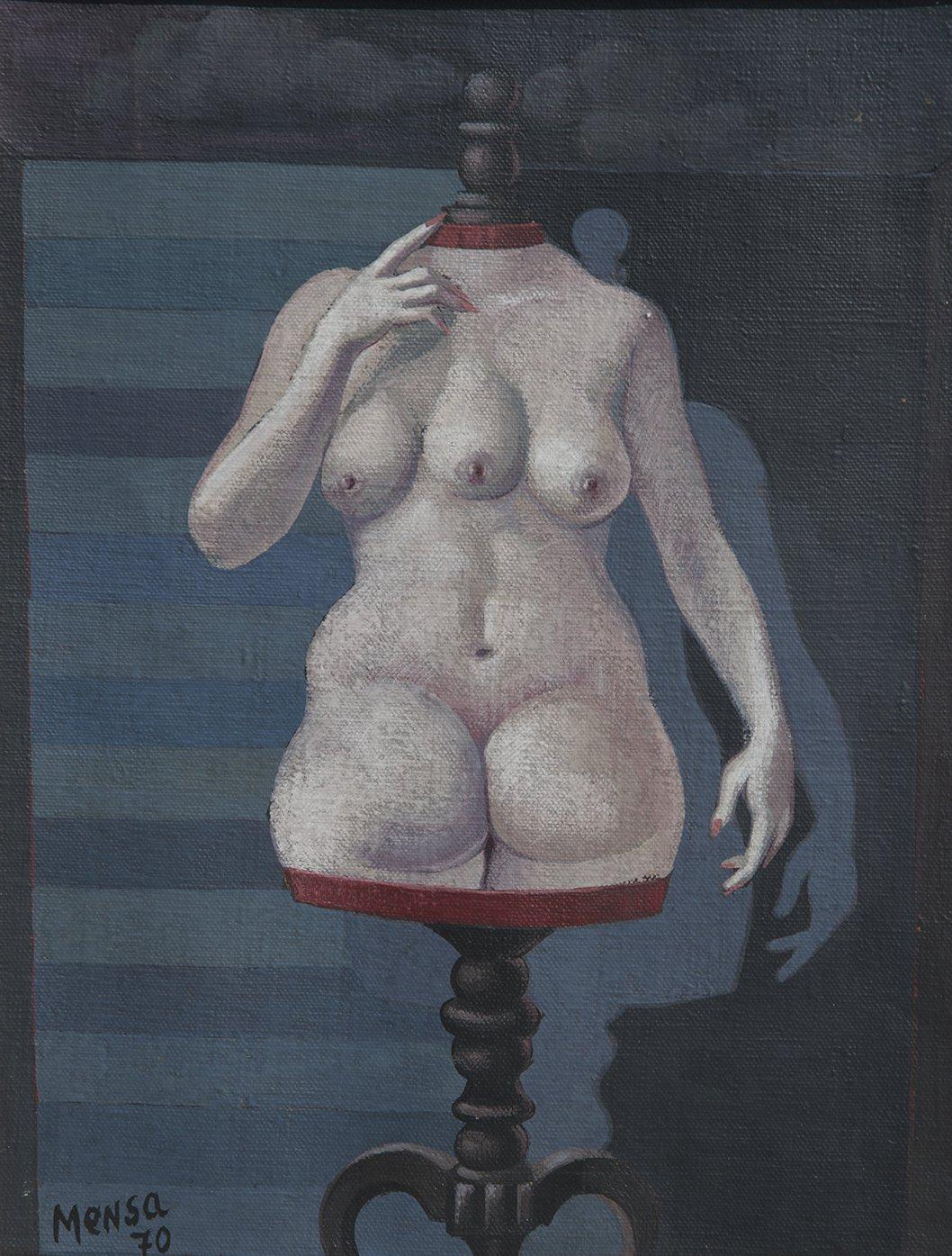 """Carlos Mensa, Modelo De Maniquí Erotico #2 """"Divine Gauche"""", 1970"""
