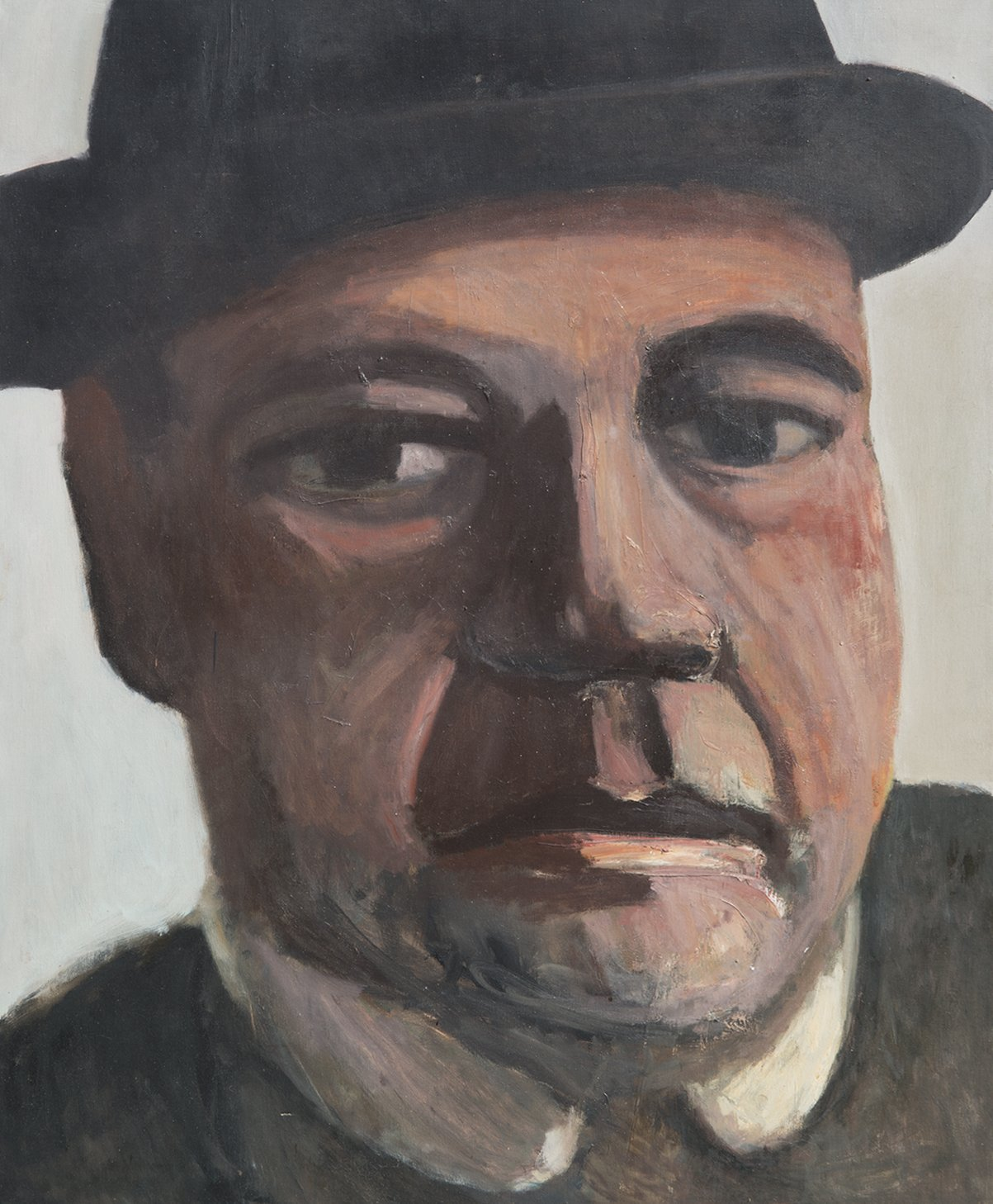 Alan Post, Man With Hat, 1975