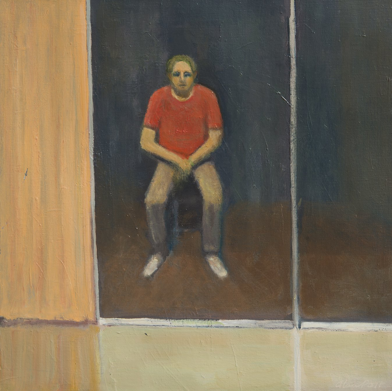 Alan Post, Night Sitter, 1976