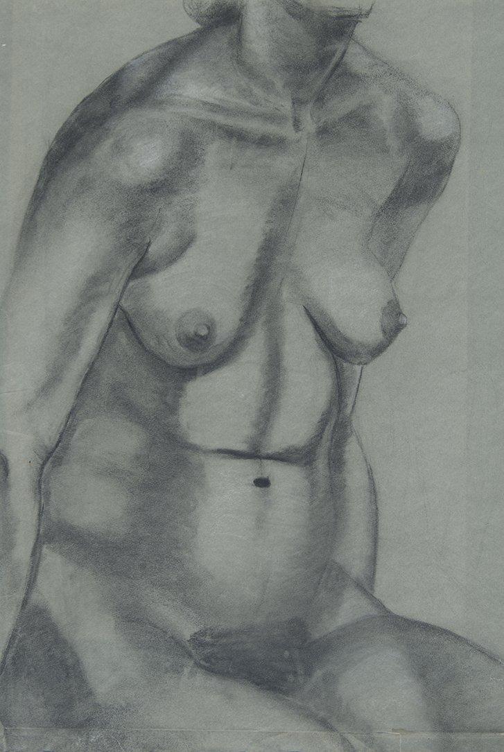 Helen Post, Nude