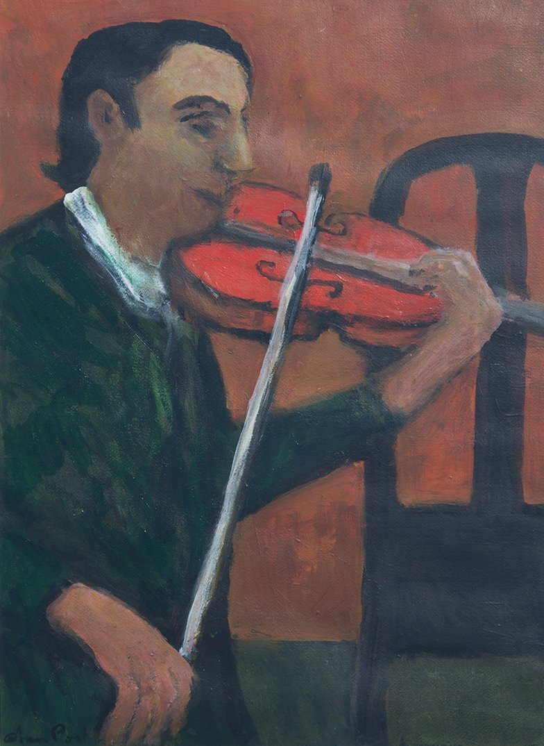 Alan Post, The Violinist, 2005