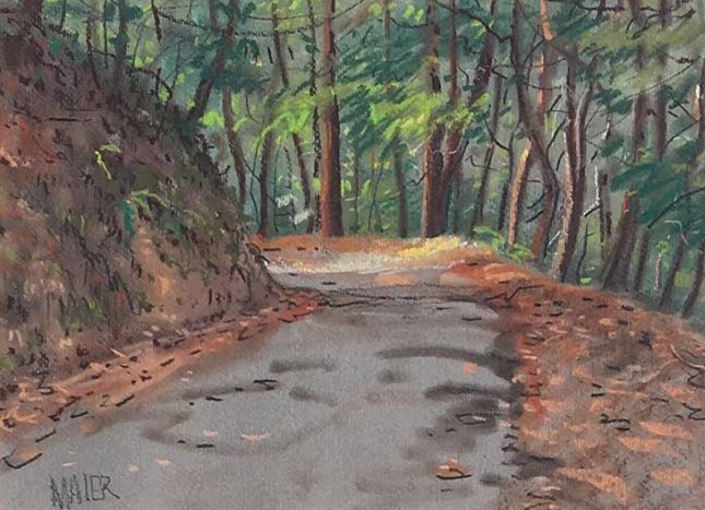 Donald Maier, Tunitas Creek Road
