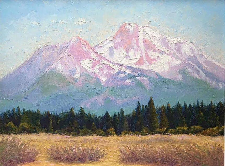 Betty Mitchell, Mt. Shasta