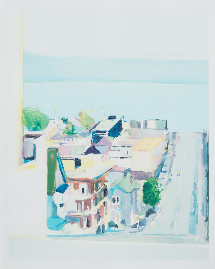Gregory Kondos, Pacific Heights 13/100, 1986