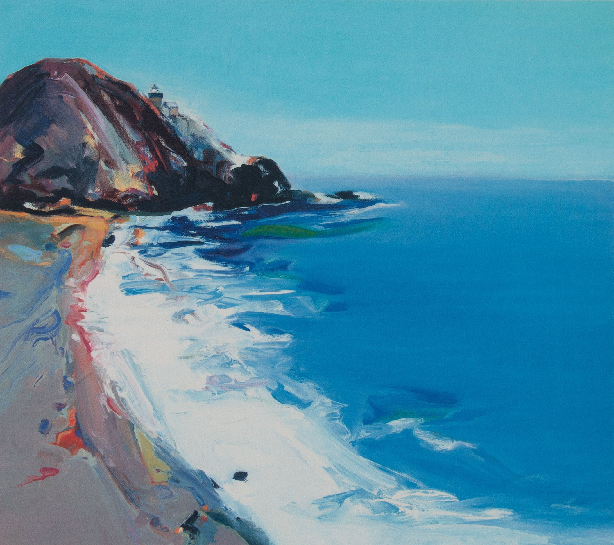 Gregory Kondos, Point Sur 15/125, 2001