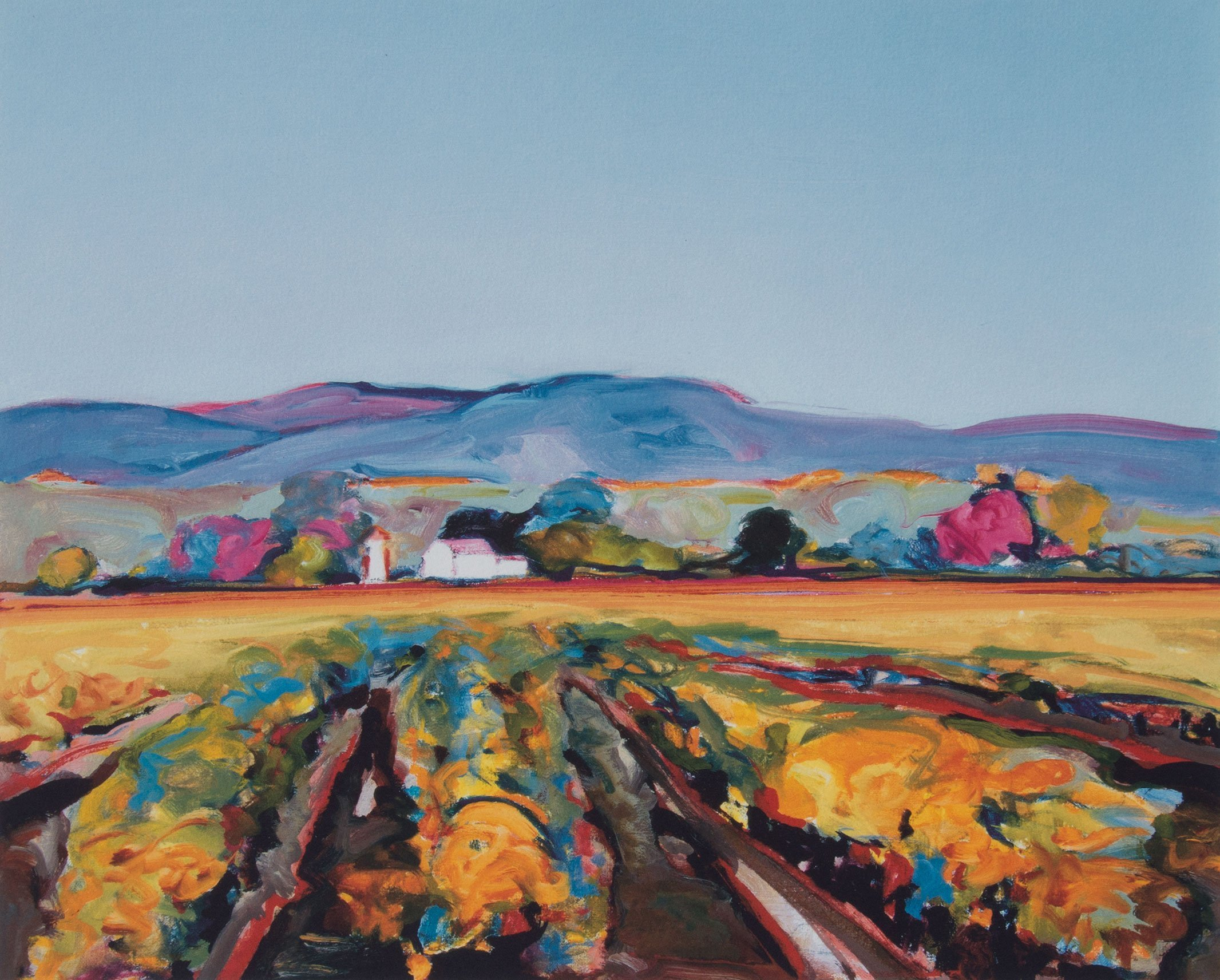 Gregory Kondos, Coastal Vineyard 20/81, 2005