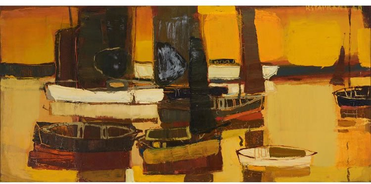 Raimonds Staprans, Untitled Boat, 1960