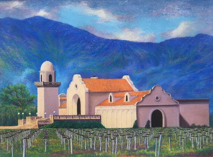 Joseph E. Murphey, Groth Winery, Napa, 1991