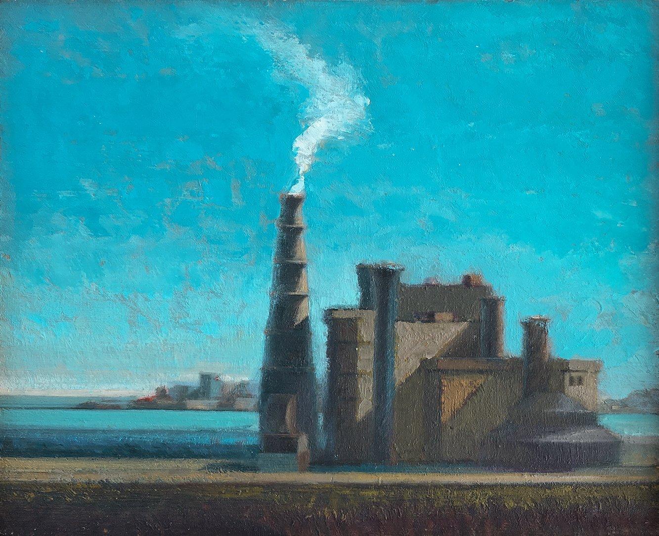 Patrick Dullanty, Bay Power Station, 1970