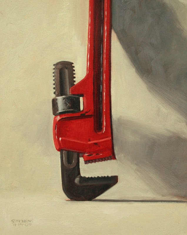 Craig Stephens, Pipe Wrench, 2009