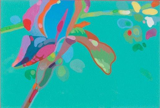 Gary Pruner, Iris No. 3, 1978