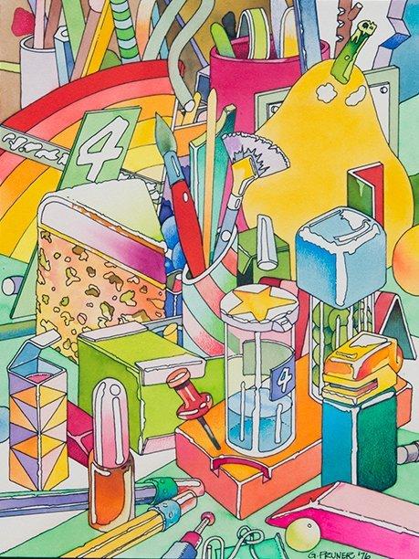 Gary Pruner, Matrix 6: Isomorphism, 1976