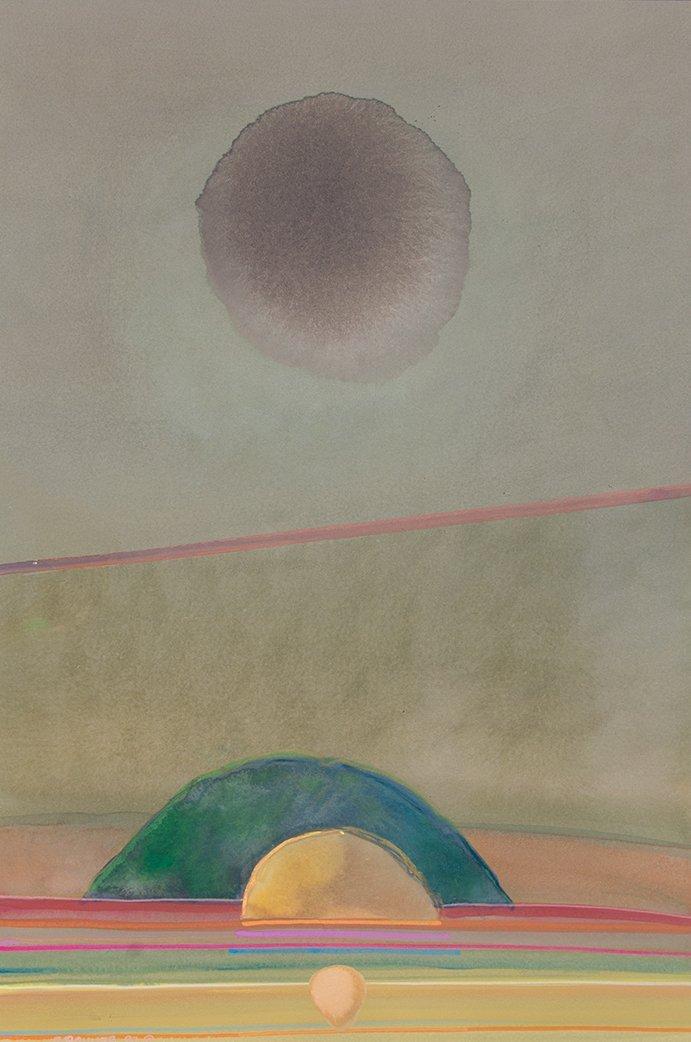 Gary Pruner, Sequence II (LW-36), 1990