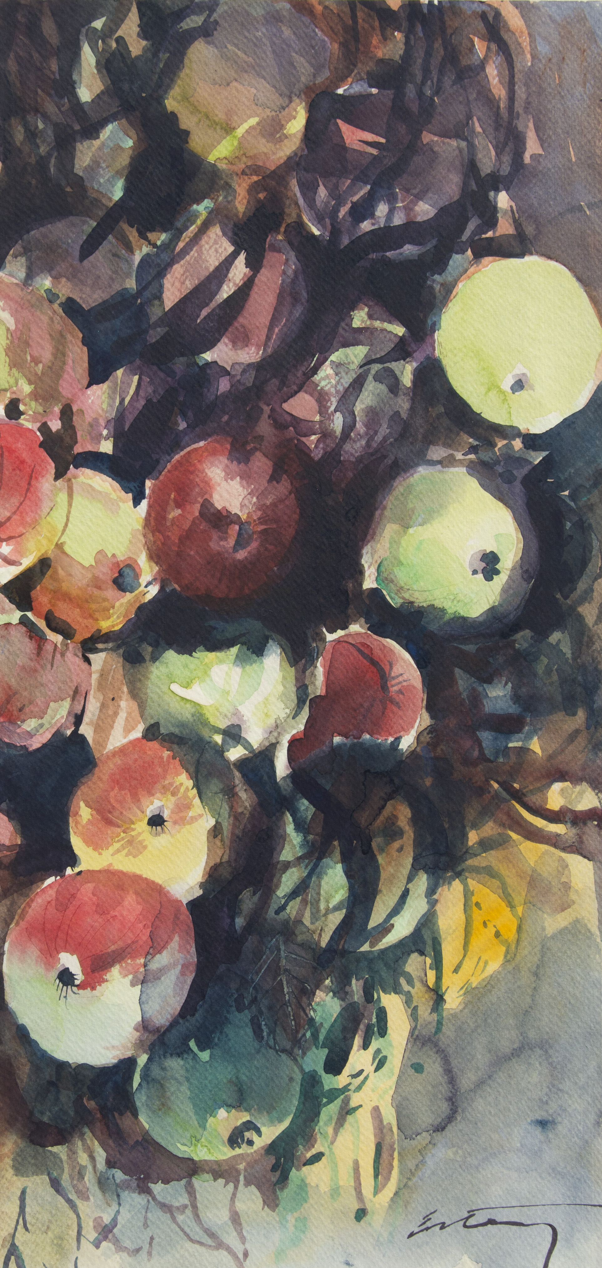 James Estey, French Apples, 1983