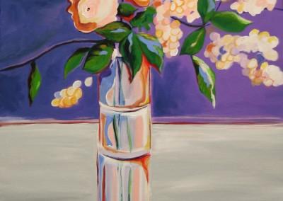Ferrante, Vito Antonio – White Flowers In Tall Vase