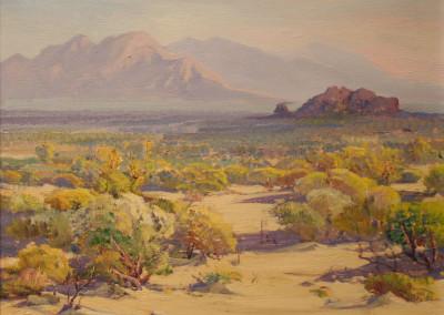 Fred Grayson Sayre Morning Light On The Desert