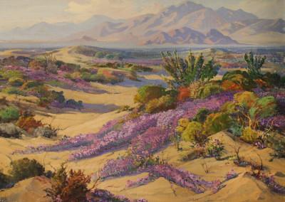Fred Grayson Sayre Verbena On The Desert