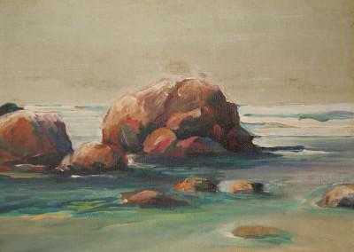 Roy Tellefson Untitled Coastal Scend