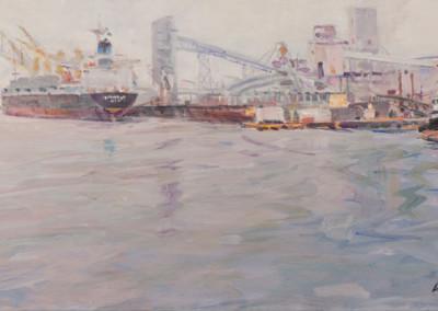 David Lobenberg, Winter, Port of Sacramento