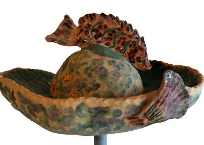 Sandra Shannonhouse Untitled Fish Hat