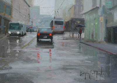 Bryan Mark Taylor, Rainy Grays, 2011