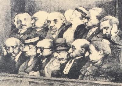 Charles Bragg, Jury