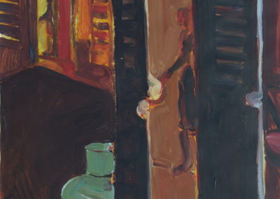 Ann Harold-Taylor, Shutter Door Study #5, 1987