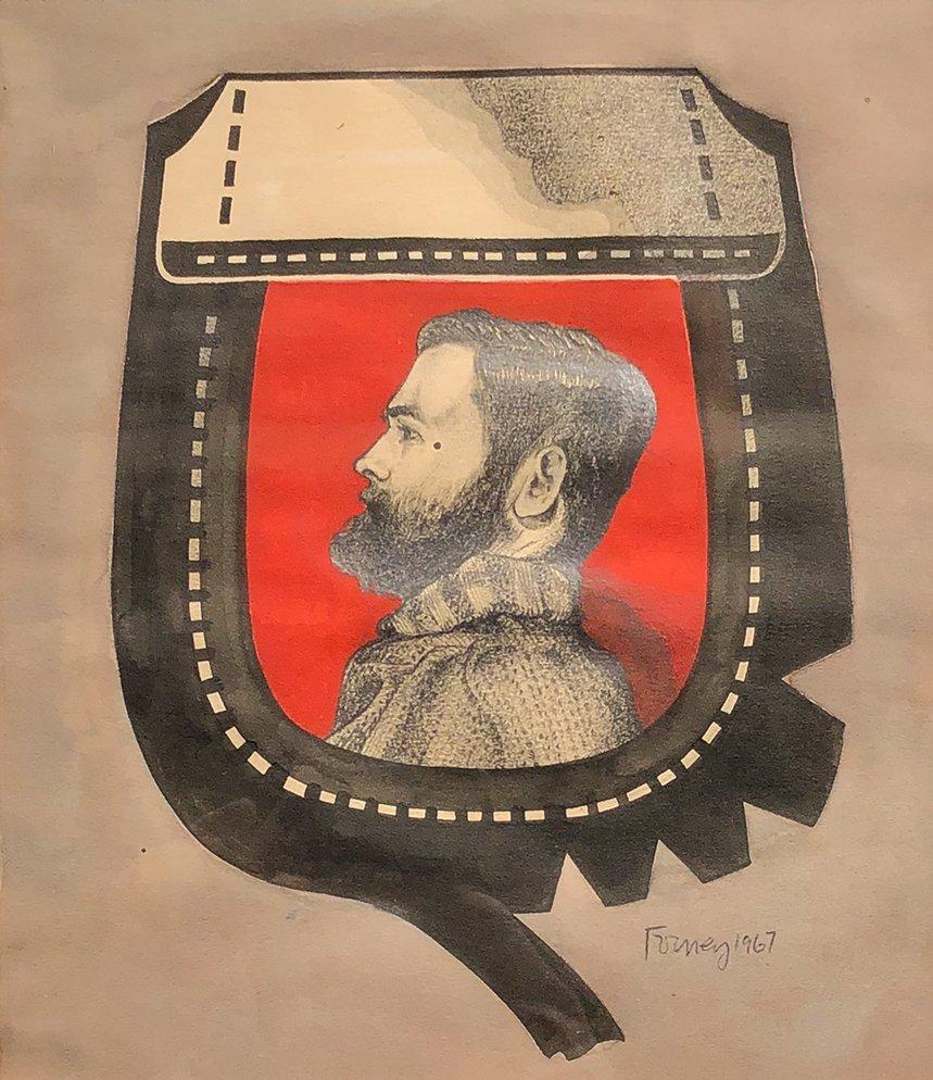 Portrait - Colour - Serguei Koultchitskii